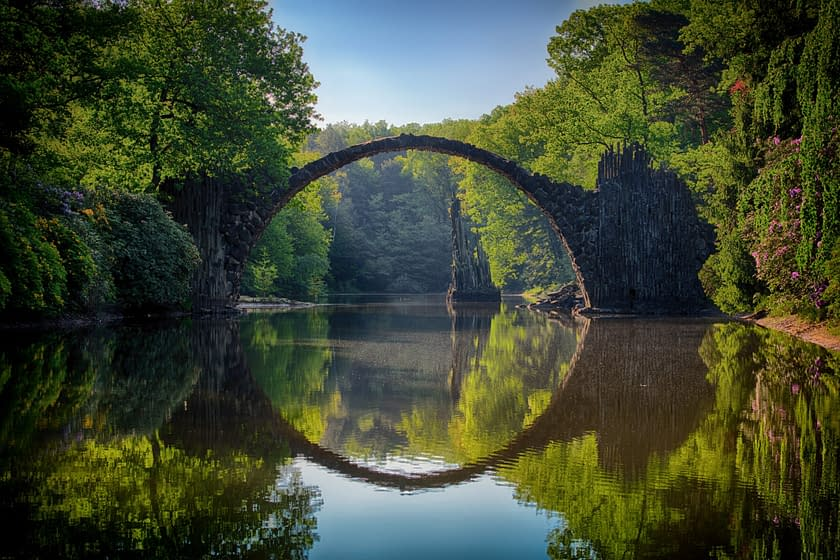 a bridge as a symbol of getting together