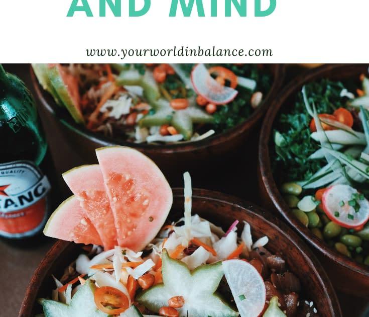 Healthy Food-Healthy Body-Healthy Mind