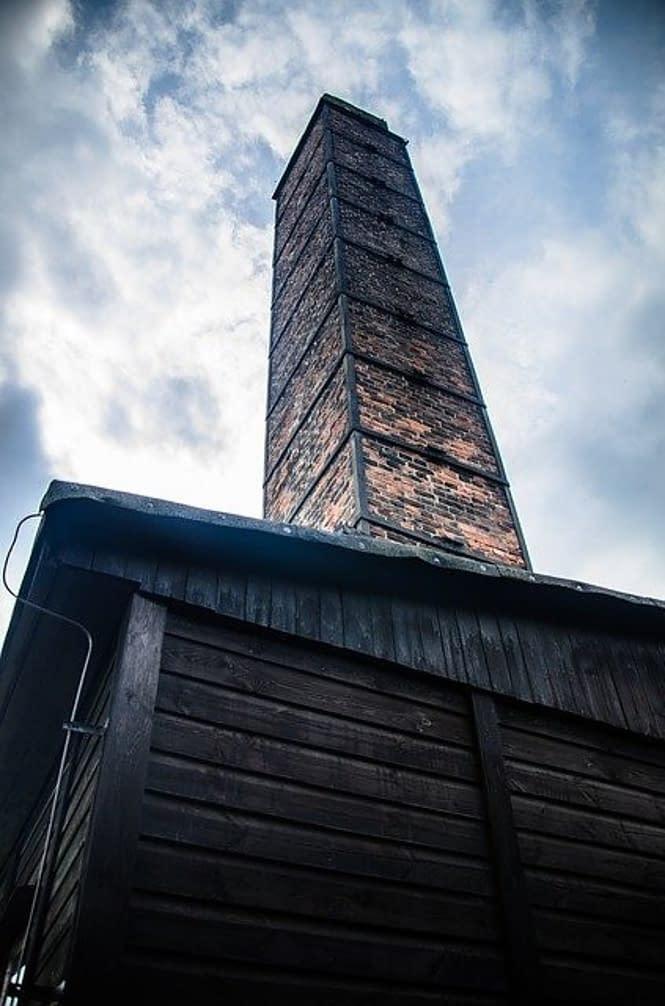 crematorium, nazi camp