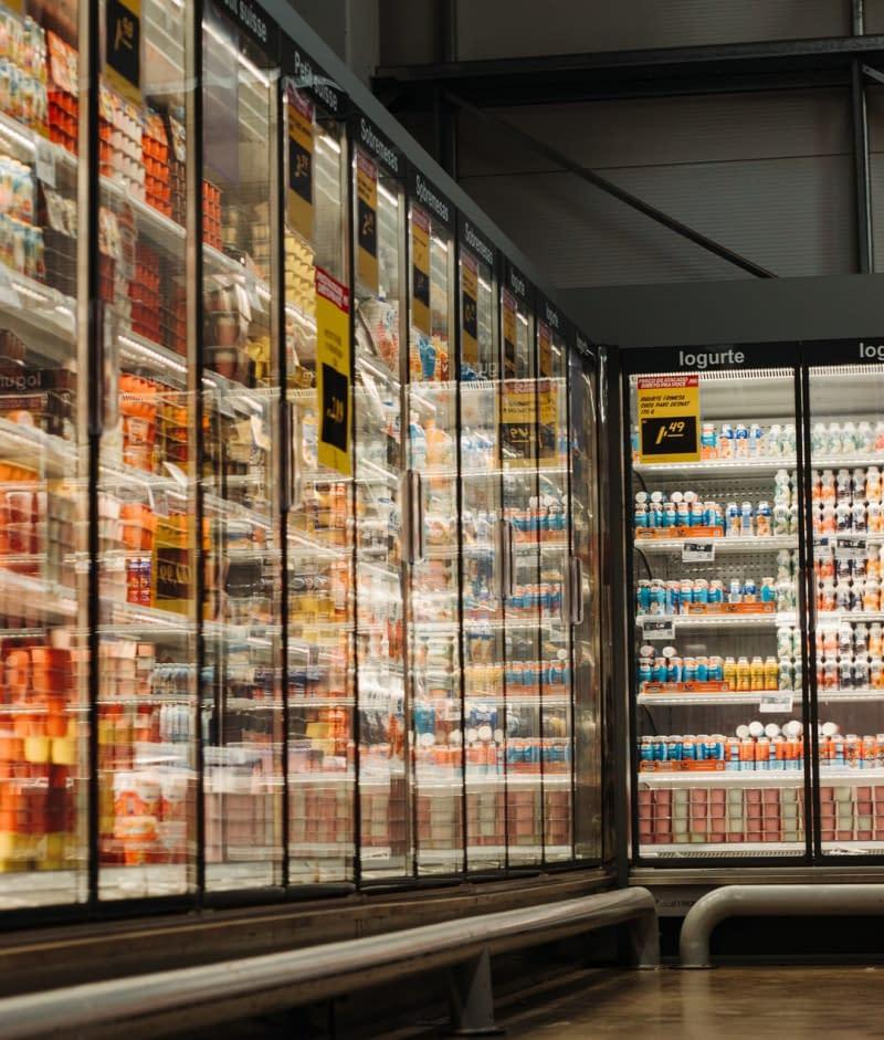 Supermarket, freeze area
