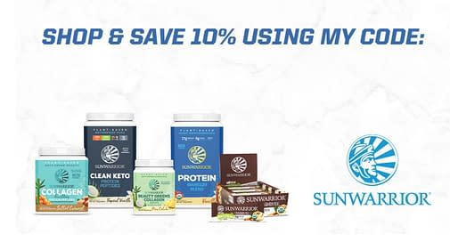 sunwarrior products, banner