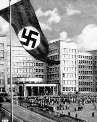 the Nazi factory IG-Farben in Germany