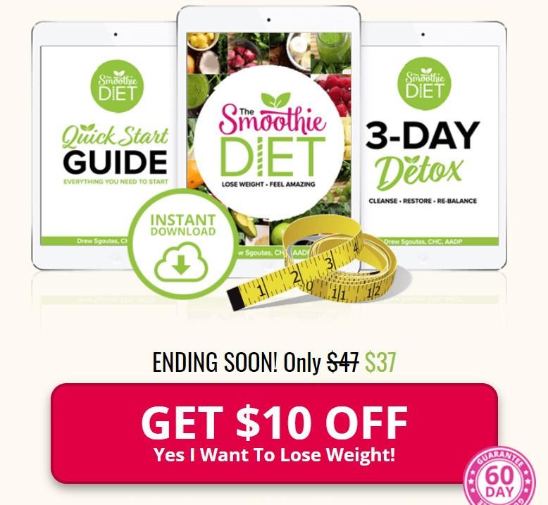 sreenshot banner smoothie diet