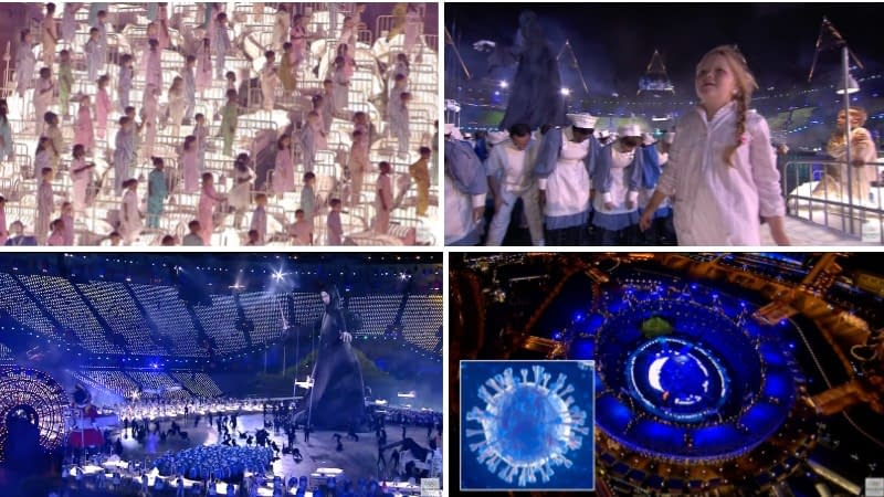 Olympic games in London, opening